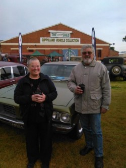 Ian and Eileen at Maffra